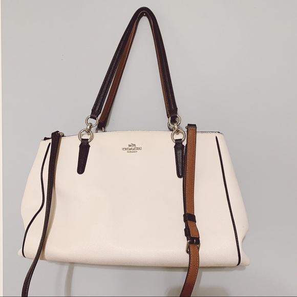 Coach Handbags - COACH Leather Crossbody Bag/Tote